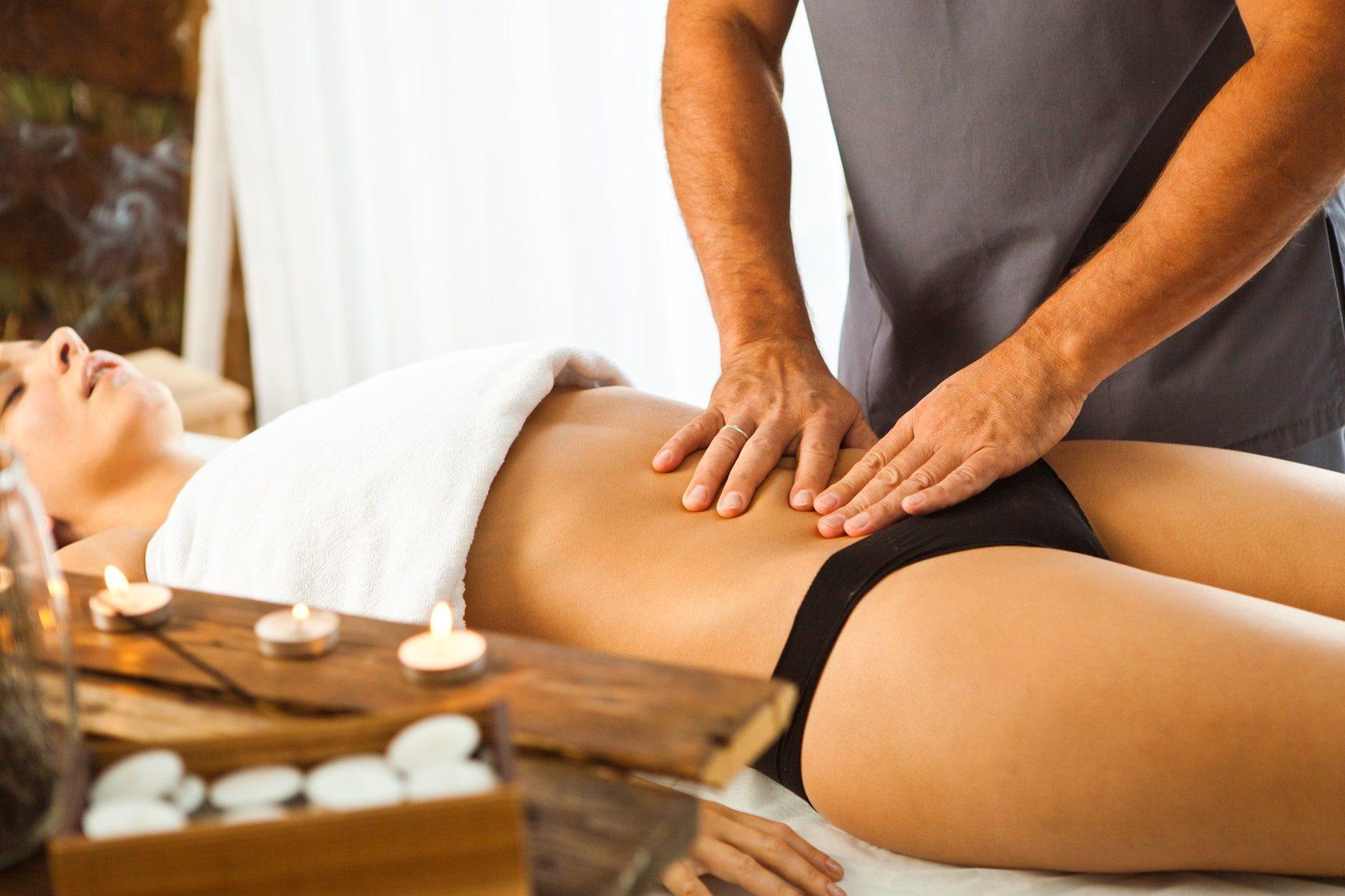 Похудение домашний массаж живот
